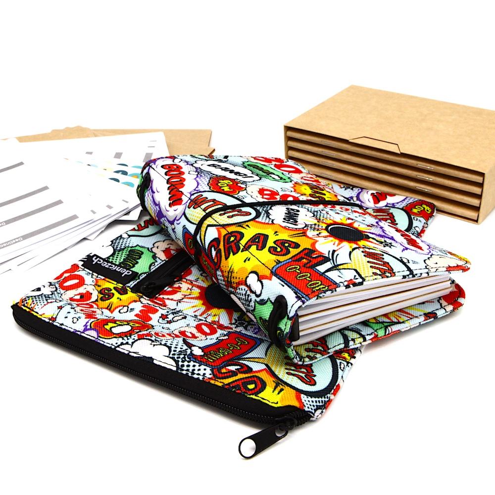 DENICZECH BOOM! X - limitovaná edice - cestovatelský deník s doplňky