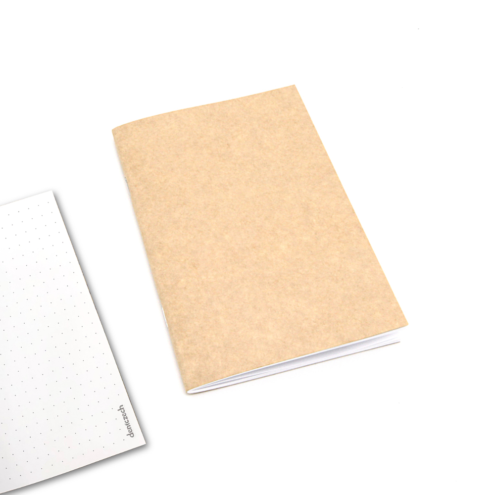 ZÁPISNÍK TEČKOVANÝ - 60 stran pro vaše poznámky - náplň do cestovatelského deníku